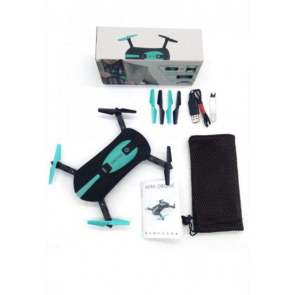 JY018 WiFi FPV Quadcopter Foldable Selfie Mini Drone With Camera