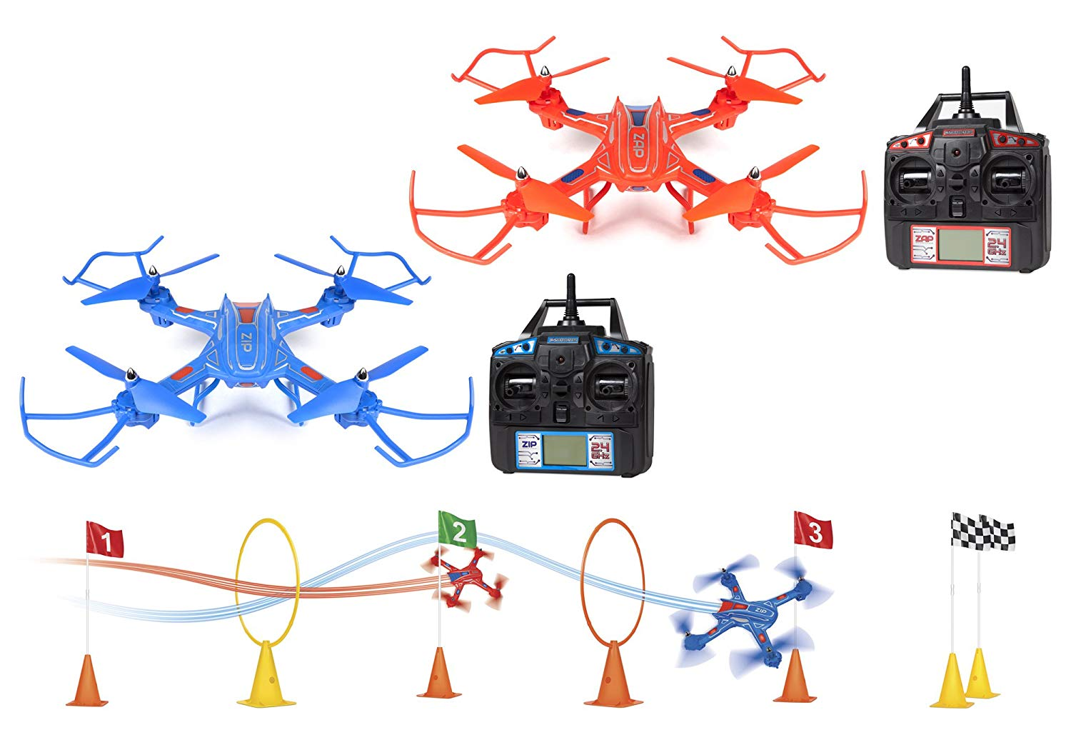 World Tech Toys Zip-Zap Racing Drones Dubai